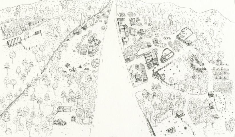 Community Scale Permaculture: Birds eye view